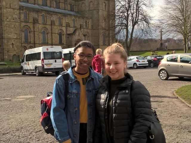 Ayanah And Georgia Won The Novice Final In Durham University S Schools Debating Competition Cropped