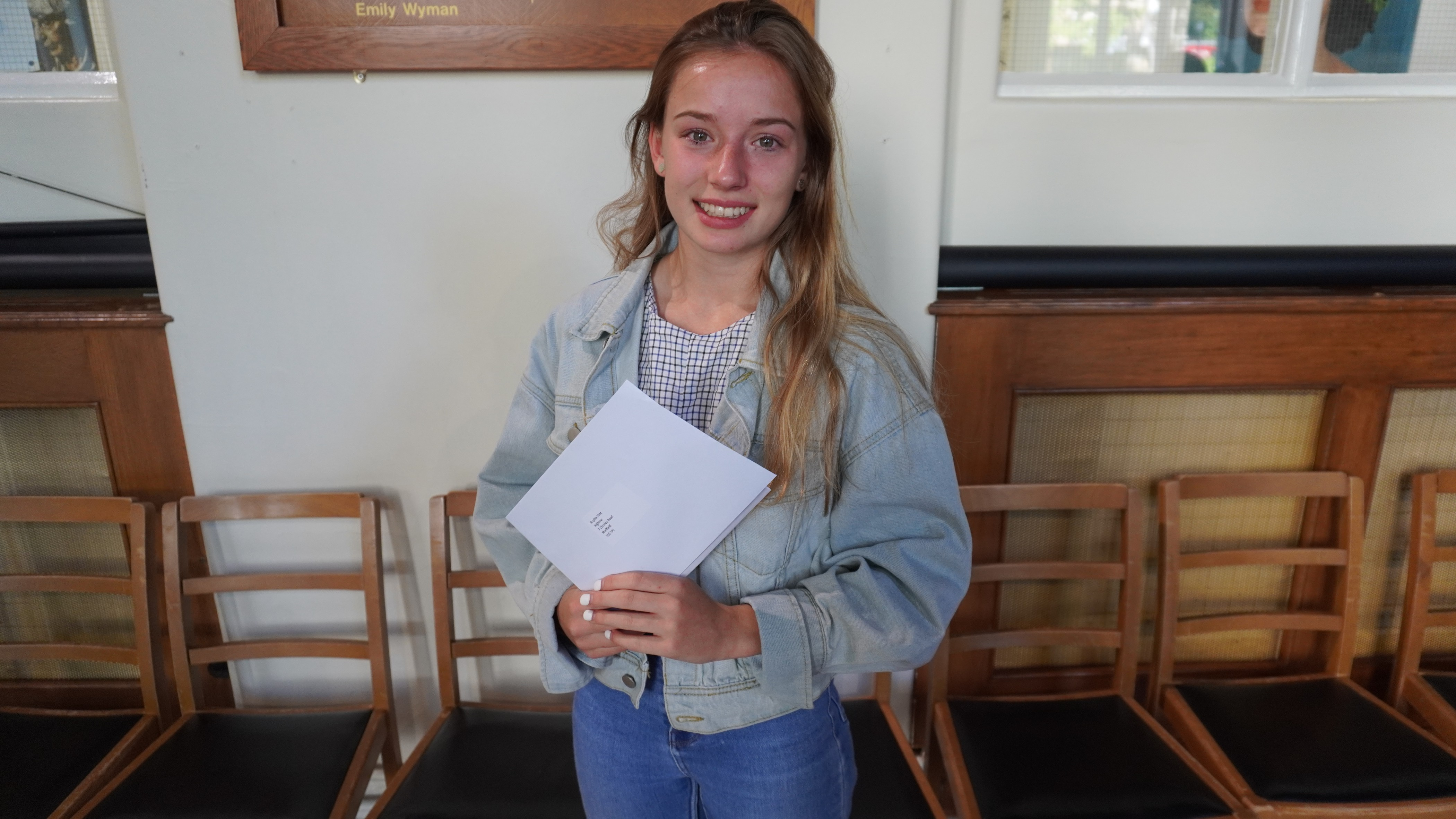 Budding STEM superstar Melika Gramy celebrates a perfect set of GCSE results