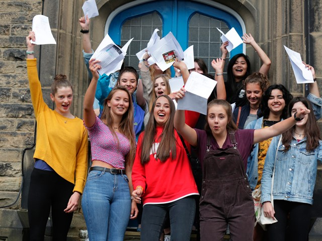 Sheffield Girls Gcse Celebrations